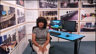 Stay healthy with this Sit stand desk
