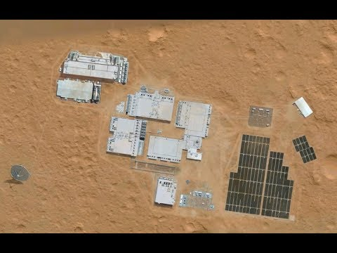 Mars Base Discovered, Next to NASA's Curiosity Rover - Hi Resolution, Look!