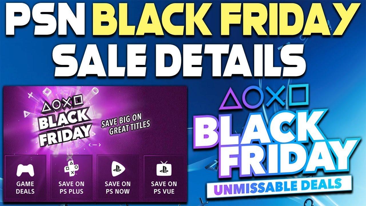 Psn Black Friday 2019 2 Big Psn Sales Coming Youtube
