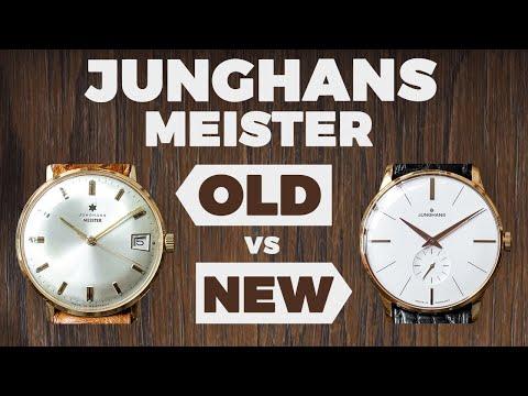 Old Vs New - Vintage & Modern Junghans Meister