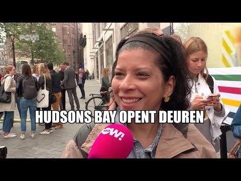 Warenhuis Hudsons Bay opent deuren