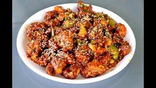 Chilli chicken Recipe  -  Restaurant Style Chili Chicken Recipe