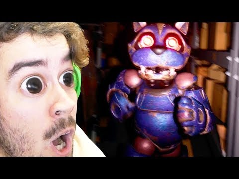 4 YEARS OF 5 NIGHTS AT FREDDYS!!! | Case 2: Animatronics (NEW)
