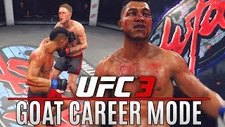 EA UFC 3 Career Mode: Knockout Specialist! What Happened To Ronald?