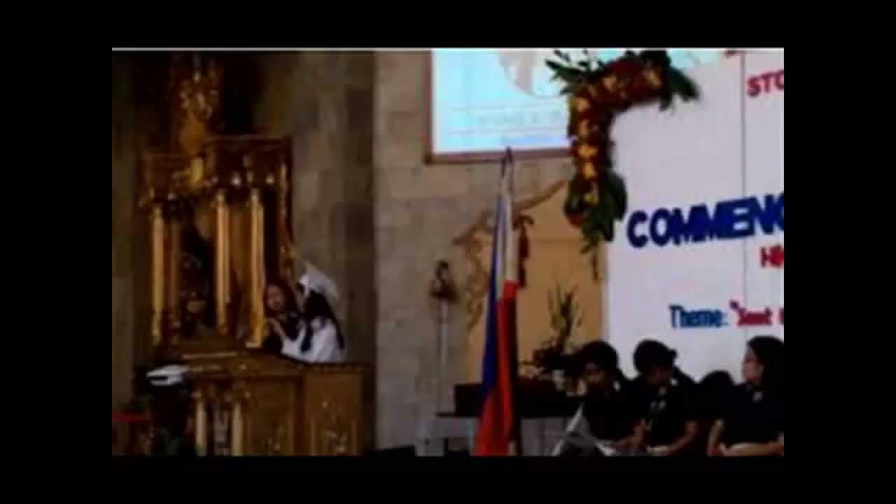 graduation speech of krisel