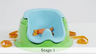 Summer Infant 3-Stage Super Seat Island Giggles