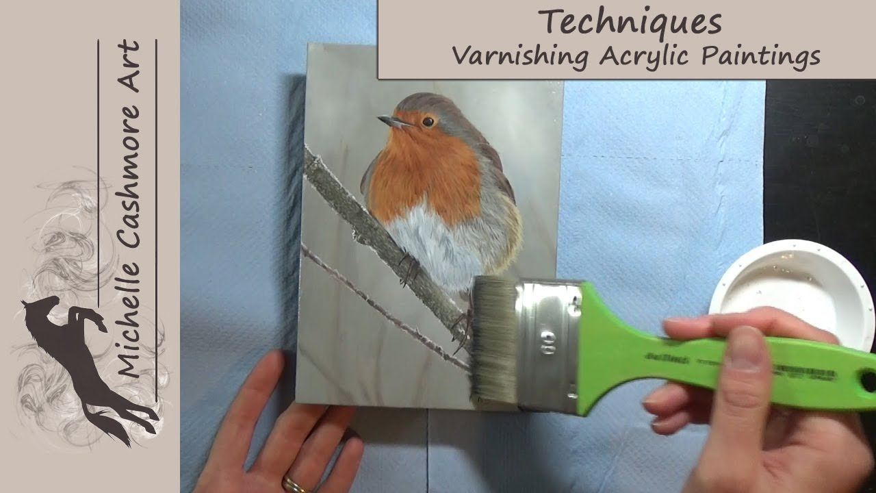 Art Tips Techniques How To Varnish Acrylic Paintings