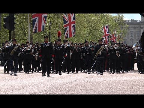 Gurkha 200 , March Down The Mall And Memorial Service In Whitehall , 30th April 2015