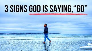 God Is Saying