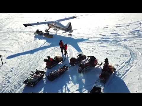 Mirage aventure, Le camp Roz,  Hiver 2018 / Mirage Adventure, Roz Lake camp , winter 2018