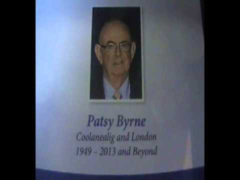 Michael Byrne speaks of his Father Patsy