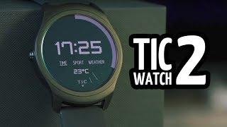 Обзор смарт часов с GPS - TicWatch 2