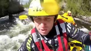 Сплав по горным рекам Кольского полуострова(Сплав по горным рекам в составе команды