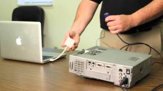 Hooking Up an Apple MacBook Pro to a Projector : Computer Hardware Help & More