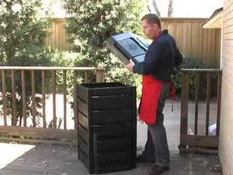 Recycled Plastic Compost Bin product video