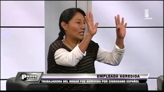 ¡Inaudito! Empleada del hogar fue golpeada por ciudadano español