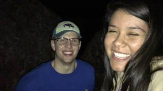 climbing a mountain in the middle of the night and other stuff