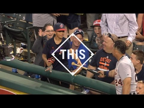 #THIS: Miguel Cabrera makes a fan for life with gift