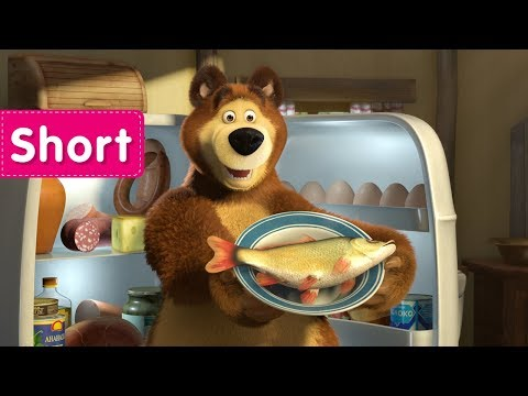 Masha and the Bear - The Foundling 🍌 (Kids don't like this kind of food)