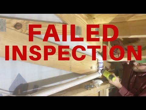 Pole Barn House: Failed Rough In Inspection...