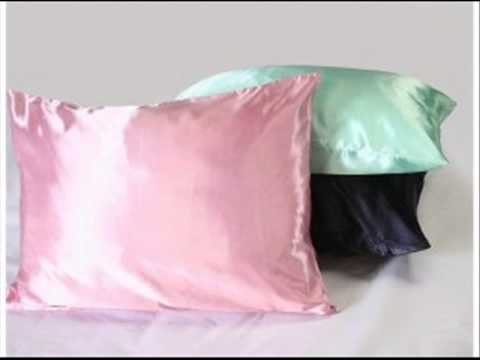 Luxury Satin Pillowcase W Hidden Zipper Standard Size