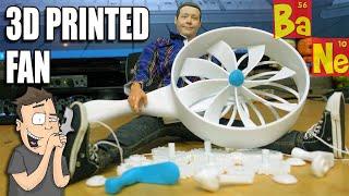 Repeat youtube video 3D Printing, Assembling & Testing a Mechanical Hand Crank Fan