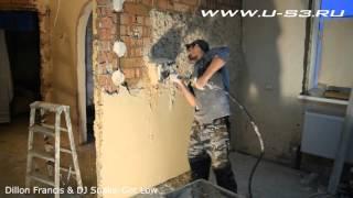 Штукатурка+хоппер ковш. Штукатурка стен.(В этом видеоролике показано оштукатуривание стен с применением хоппер ковша. Есть несколько вариантов..., 2015-11-01T18:02:58.000Z)