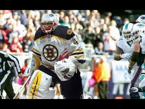 Patriots' Brady throws support behind Rask, Bruins