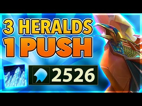 *NEW SKIN*  I SPAWN 3 RIFT HARALDS AT ONCE (2526 AP) - BunnyFuFuu