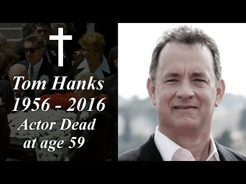 Tom Hanks Dead at age 59 years
