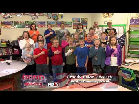 Pledge of Allegiance: Delshire Elementary School - Ms. Brandy Tudor 5th Grade