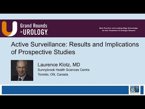 Active Surveillance Results and Implications of Prospective Studies