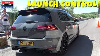 Crazy volkswagen golf 7 r w/ armytrix exhaust! - loud accelerations!