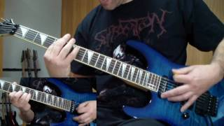 Bloodbath - His Infernal Necropsy (guitar cover)