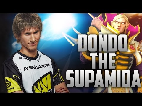 Dendi plays for Invoker   -  Commentary + Web Cam - public (22.08.2014)