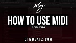 How To Use MIDI Files In FL Studio Tutorial