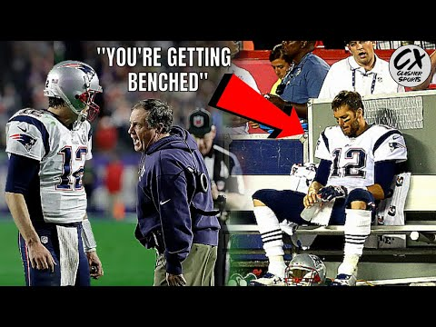 The Infamous Game When Tom Brady Got BENCHED & Everybody Said His CAREER WAS OVER!!!