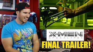 X-men: Apocalypse- Final Trailer Reaction & Review!