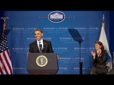 President Obama on Education at TechBoston