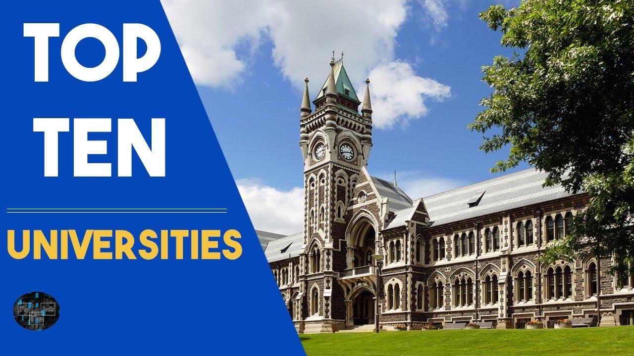 Top Ten Universities In The World 2018 -- Top 10 Universitie