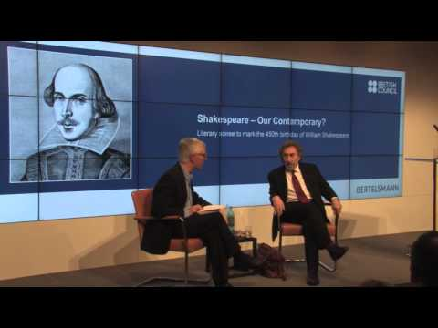 Howard Jacobson in conversation with John Mullan / Shakespeare 2014
