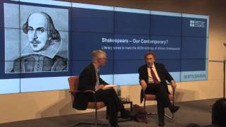 Howard Jacobson in conversation with John Mullan / Shakespeare 2014