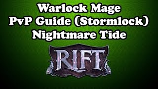 [Rift 3.3] Warlock Mage PvP Guide (Stormlock) with Macros