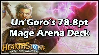 [Hearthstone] Un'Goro's 78.8 Point Mage Arena Deck