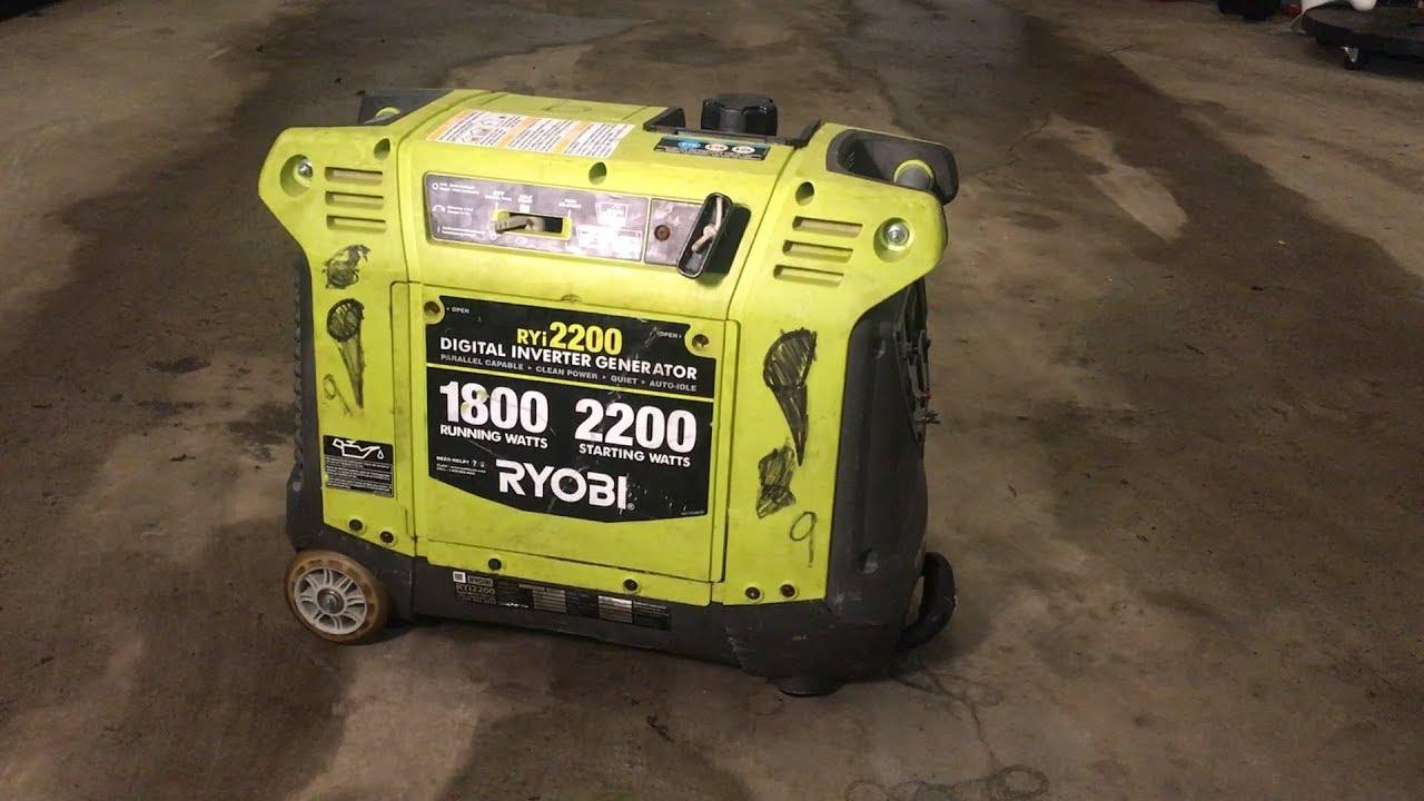 Generator Rough Idle