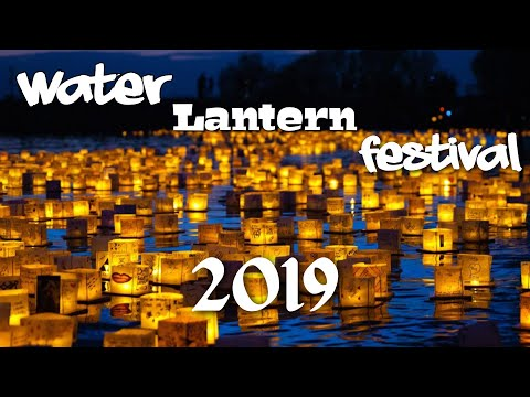 Water Lantern Festival 2019 Los Angeles | Making My Own Lantern | Event Highlights & Views