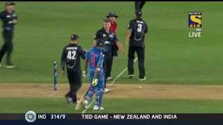 India NZ 3rd ODI Full Match Highlights HD played on 25th Jan\'14