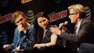 Marvel's Iron Fist panel @ NYCC 2016 (with The Punisher, The Defenders)