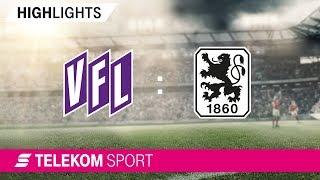 VfL Osnabrück - TSV 1860 München | Spieltag 3, 18/19 | Telekom Sport