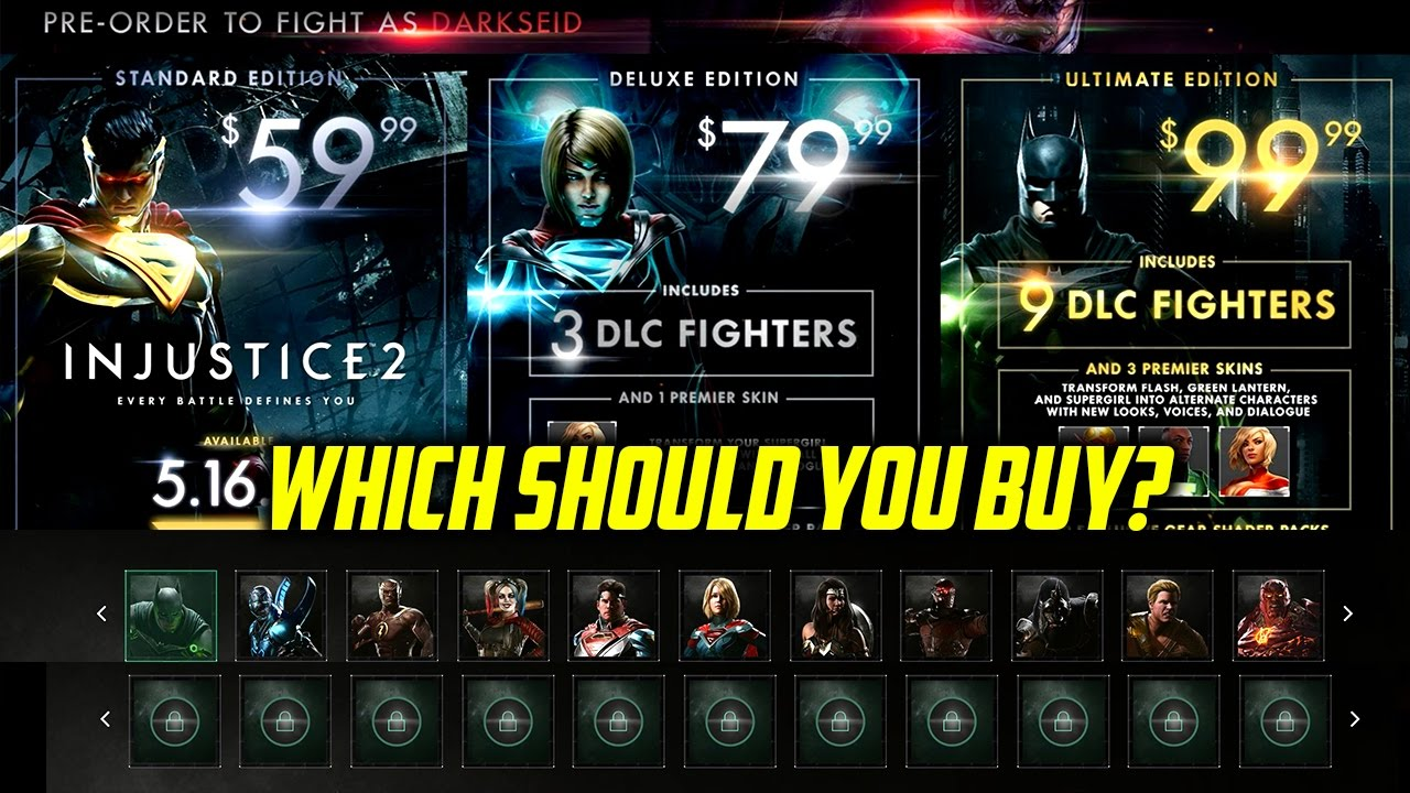 how to buy injustice 2
